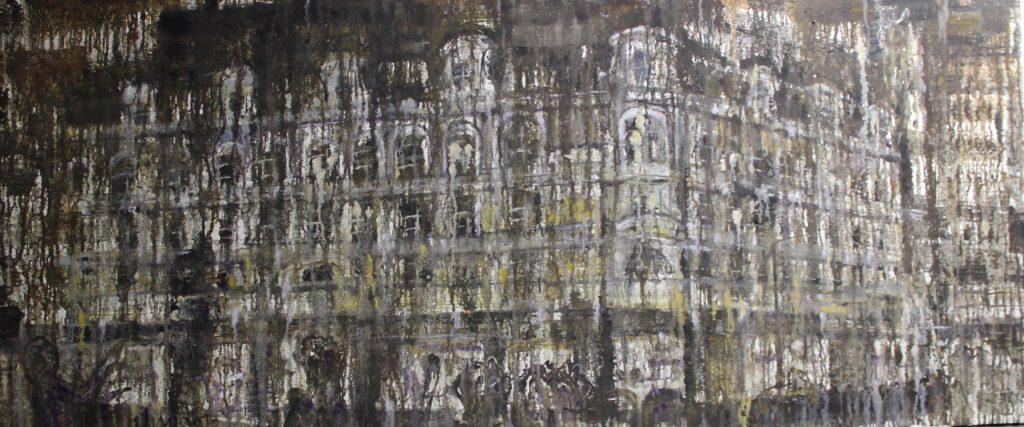 城市系列No.1City No.1_70x160 cm_油画布面Oil on Canvas_赵峥嵘Zhao Zhengrong(b. 1971)