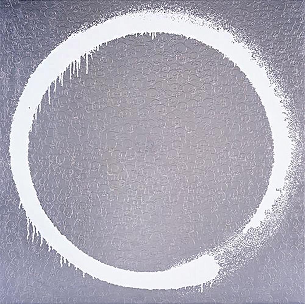 圆:向吉原治良致敬 银|胶印版画 80:300|68x68cm