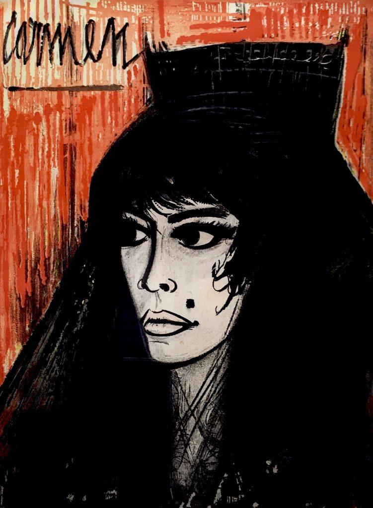 卡门|39×58cm|版画|1962