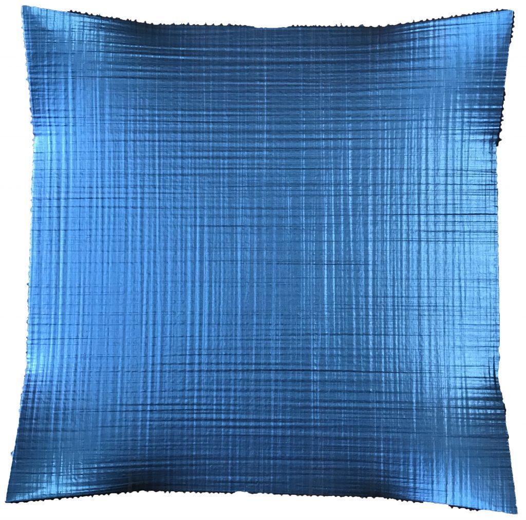 衍生物 100X100cm 综合材料 2015 颜色名叫幻彩蓝黑副本