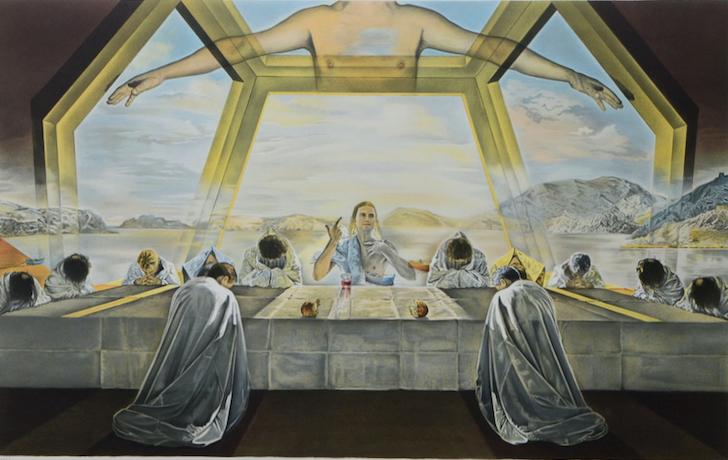 The Last Supper|最后的晚餐|72 x 45cm|版画|1988